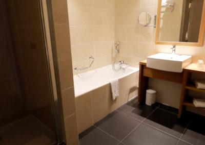 Salle de bain chambre privilège canapé